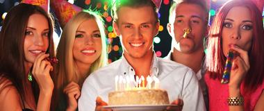 Erwachsenen-Geburtstag