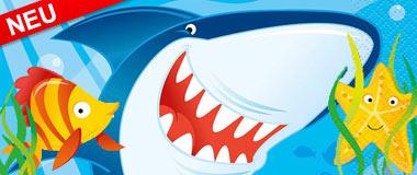 Haifisch Partydeko