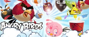 Angry Birds Partydeko