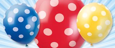 bedruckte Ballons Latex