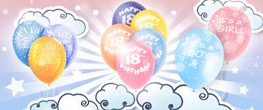 Geburtstags-Ballons Latex
