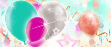 Pastell-Ballons Latex