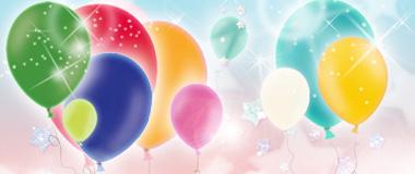 Standard-Ballons Latex