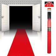 Roter Teppichläufer 450x60cm