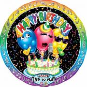 Musikballon Happy Birthday ø71cm