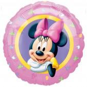 Folienballon Minnie Maus Portrait ø45cm