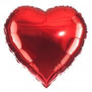 Folienballon Herz Rot ø45cm