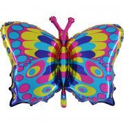 Folienballon Schmetterling 56x90cm  MET