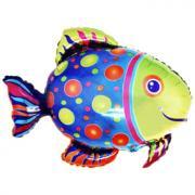 Folienballon Fisch MET