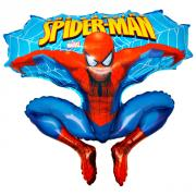 Folienballon Spiderman Blau 70x70cm MET