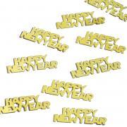 Metallic-Konfetti Happy New Year Gold 10g