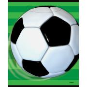 8 Geschenktüten Fussball