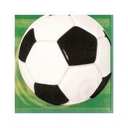 16 Servietten Fussball 33cm