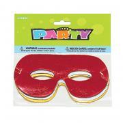 8 bunte Augenmasken
