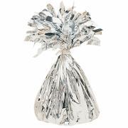 Ballongewicht Glitzer Silber 170g
