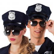 Brille Polizist Cop