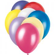 8 Latexballons ø30cm Pastell-Mix
