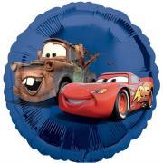 Folienballon Cars blau ø45cm