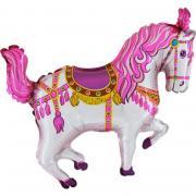 Miniloon Zirkuspferd pink