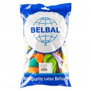 100 Latexballons ø33cm Bunter Mix Pastell