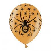 6 Latexballons Spinne 28cm