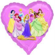 Folienballon Prinzessinen ø45cm