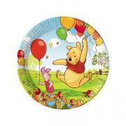 8 Pappteller Winnie Pooh ø20cm