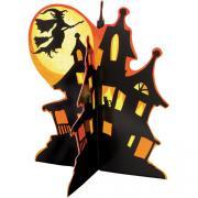 Tischaufsteller Spooky Hollow 3D-Haus