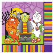 16 Halloween-Servietten Kleine Monster
