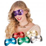 Masken glitzernd 6Farben Mix