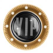 6 Pappteller VIP ø18cm