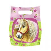 6 Geschenktüten Pferde