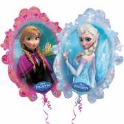 Folienballon Die Eiskönigin Elsa & Anna 90x80cm
