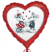 Folienballon Mickey & Minnie Love Retro ø45cm