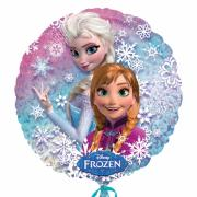 Folienballon Die Eiskönigin Anna & Elsa ø45cm