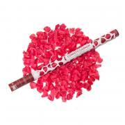 Konfetti-Shooter Rosenblätter Rot 80cm