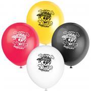 8 Latexballons Piraten Spaß