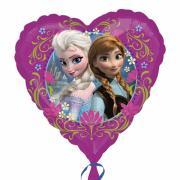 Folienballon Die Eiskönigin Herz ø45cm