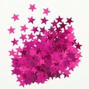 Metallic-Konfetti Sterne Pink 14g