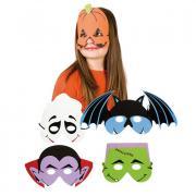 Kindermaske Schauergesicht
