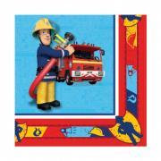 20 Servietten Fireman Sam 33cm