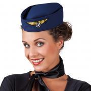 Hut Stewardess Flugbegleiterin