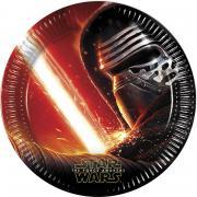 Pappteller Star Wars VII 23cm 8 Stück
