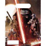 Geschenktüten Star Wars VII 16x23cm 6 Stück