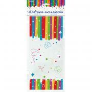 20 Geschenktüten Rainbow Ribbon Birthday