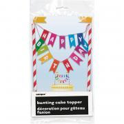 Tortendeko Happy Birthday Rainbow