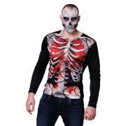 T-Shirt Bloody Skeleton M/L