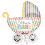 ABC Shape Welcome Baby Kinderwagen 71x79cm