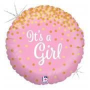 ABC18 It's a Girl Glitter 45cmØ