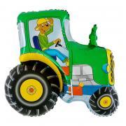 ABC Shape Traktor Grün